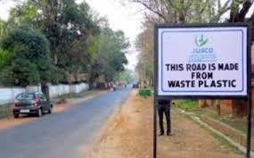plastic road India