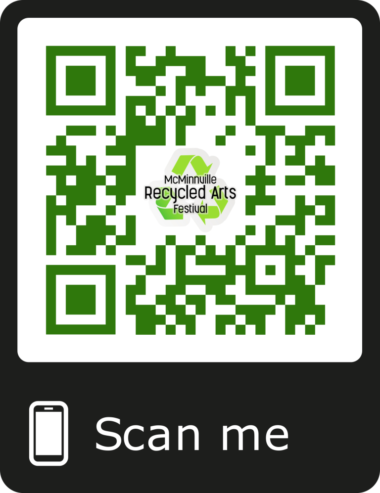 qr code recycled_arts_festival