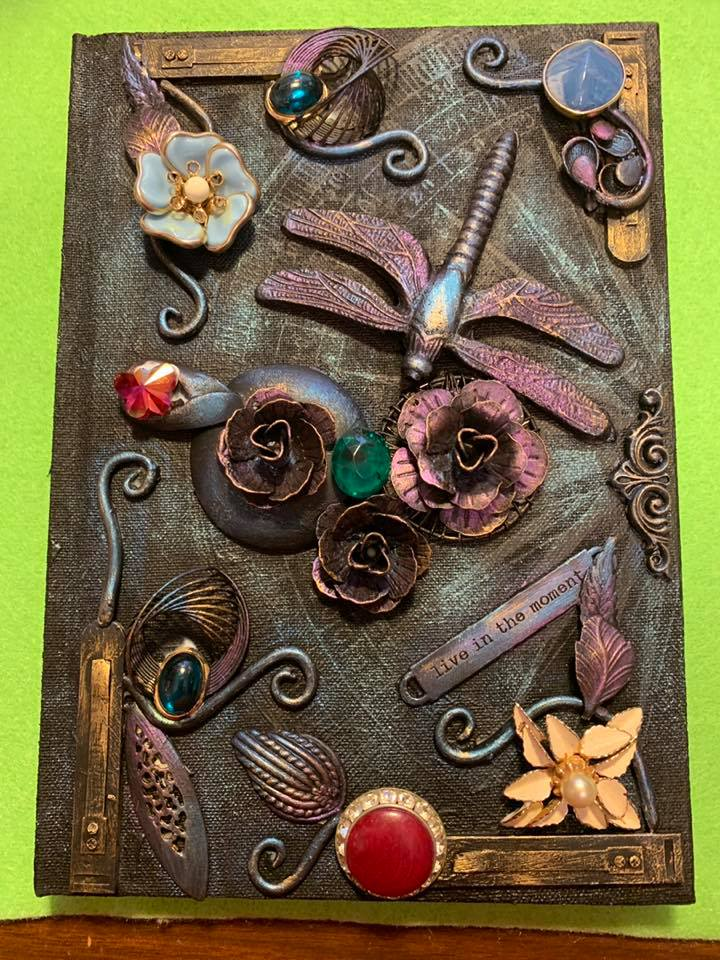 dragonfly Journal - Darling Art By Valeri - Valeri Darling