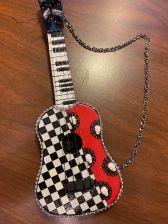 Rock Out Guitar - Darling Art By Valeri - Valeri Darling