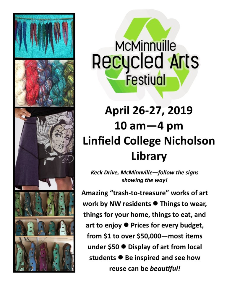 2019 Recycled Arts Festival Poster 4