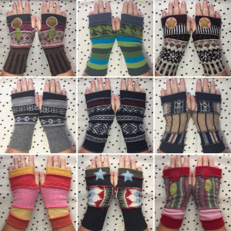 Gloves - multiple designs - zoe wylychenko