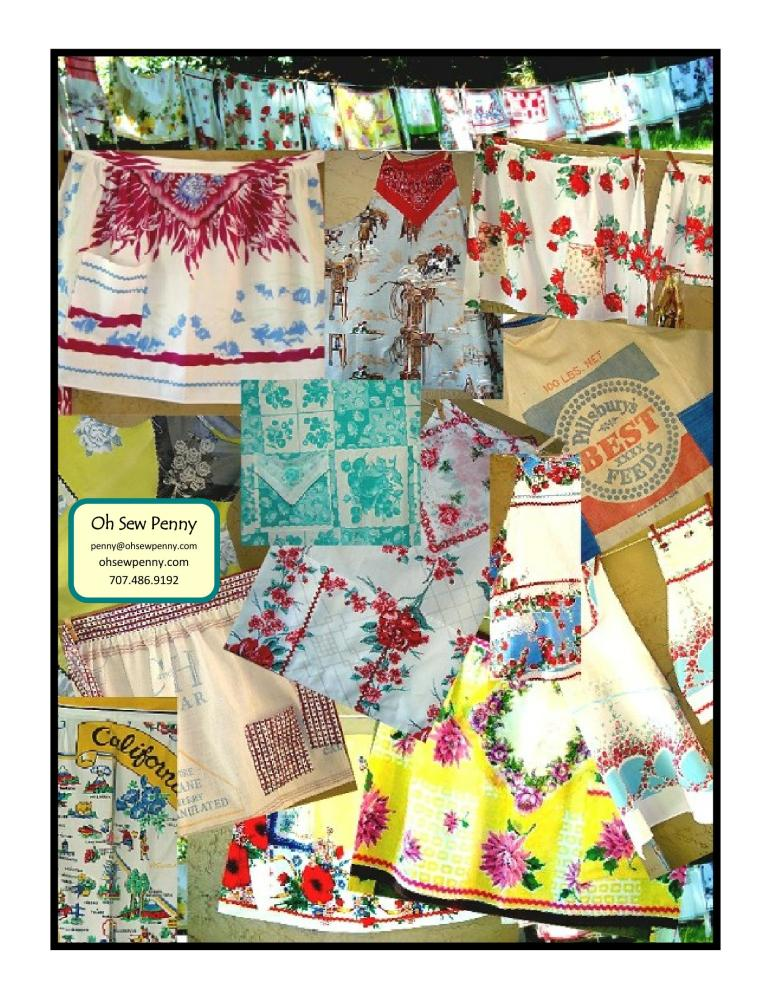 oh Sew Penny aprons
